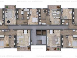 Apartament 3 camere lux incalzire in pardoseala, Direct Dezv