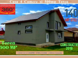 Casa in Crevedia-Buftea cu 4 Camere si 500 mp Teren