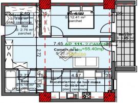 Apartament 2 camere,Et itermediar, Bloc Nou, Marasti