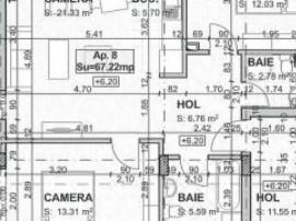 Apartament 3 camere imobil nou Borhanci