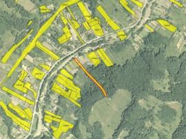 Teren extravilan in sat Popesti, comuna Golesti, Valcea