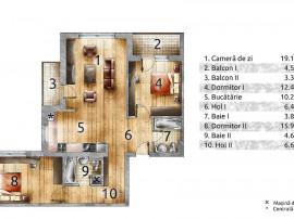 Apartament 3 camere Drumul Taberei/Bd Timisoara 101V