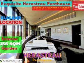 Penthouse Superb cu 3 Nivele si Gradina Exterioara in Herast