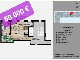 Apartament 2 Camere - Mamaia Nord/ Sat - La Alb