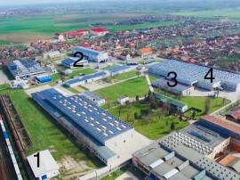 Hale industriale, zona Sânnicolaul Mic
