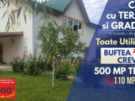 Casa cu Terasa si Gradina si Toate Utilitatile in Buftea-Cre