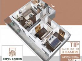 COMISION 0!-Copou, Apartament 3 camere