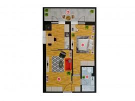 Apartament 2 camere in zona deosebita Delta Vacaresti
