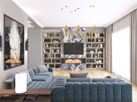 Penthouse 5 camere - One Herastrau Plaza - 3D Tour