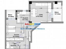 Apartament 2 camere 70 mpu Sos Chitilei Carrefour Colosseum