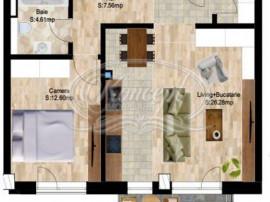 Apartamente cu 2 camere intr-un proiect nou, ultracentral