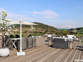 Calea Moldovei-Green City Residence, Penthouse 131mp, terasa