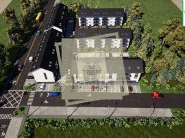 Apartament etajul 2 la alb cu 2 camere decomandate balcon si
