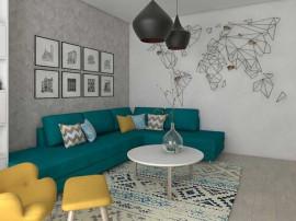 Apartament 3 camere + Terasa 59 mp - Metrou Nicolae Teclu...