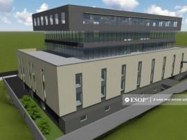 Imobil de birouri modern, Barbu Vacarescu, 8.381mp construit