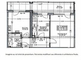 Apartament 2 camere - Parcul Teilor - Theodor Pallady