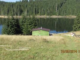 Teren si cabana la lac Belis-Fantanele,sat Giurcuta de Sus