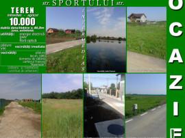 Ulmi(Giurgiu), 10.000mp teren, deschidere 47m