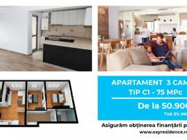 Rahova – Antiaeriana - Apartament 3 camere Tip C1