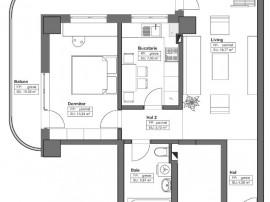 Apartament cu 2 camere decomandate, Bld. Chimiei 101, Iasi