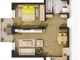 Apartament doua camere - Cartierul Solar