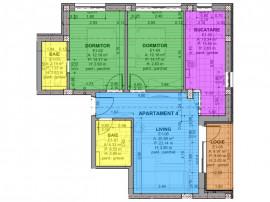 Apartament 3 camere la cheie Selimbar, Brana