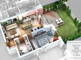 Apartament 50 mpu cu Gradina 34mp Dezvoltator