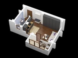 Garsoniera - Militari Residence