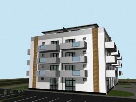 Penthouse cu 3 camere cu terasa circulabila 45 mp