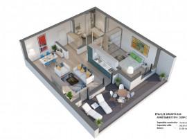 Apartament 2 camere Millo Residence Pipera Voluntari
