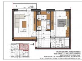 Apartament 2 camere Theodor Pallady-Metrou Nicolae Teclu