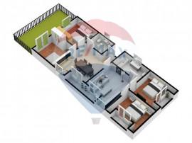 Apartament 5 camere + Gradina | Pret pentru luna februarie