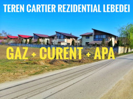 Cartier Rezidential Lebedei Berceni - Gaz Curent Apa 440mp