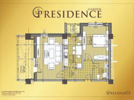 Apartament 2 camere, decomandat in P-Residence Garden
