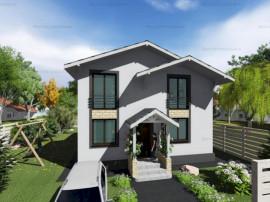 FARA COMISIOANE casa cu 5 camere P+1 terasa camera tehnica L