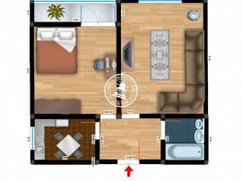 Apartament 2 camere Alexandru cel Bun,