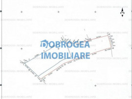 Murighiol, teren intravilan, 2636 mp, deschidere 30 ml, cana