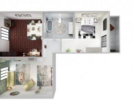 NOU ! Apartament 3 camere + gradină | Direct dezvoltator...