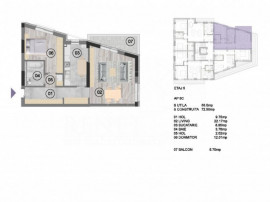 Apartament 2 camere decomandat NearCenter Residence Agricult