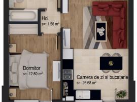Apartament tip studio 5% DISCOUNT 01.05-31.05