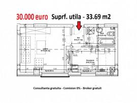 Garsoniera 34 mp