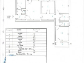 (cod5629) Tomis Nord, apartament 4 camere et1 88mp Constanta