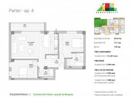Apartament 3 camere ansamblu rezidențial premium Răcădău