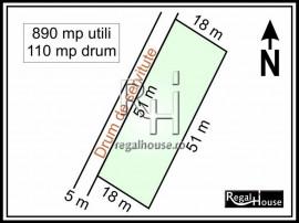 Izvorani - COR, teren 1000 mp, comision 0