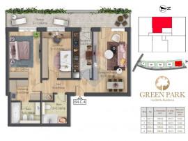 Apartament 3 camere de vanzare Herastrau B4.C4