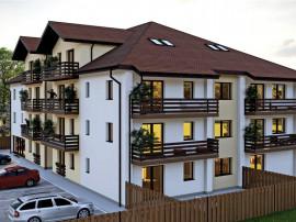 Apartament nou 2 camere cu gradina 50 m.p. si parcare privat