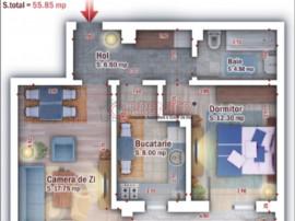 2 camere FINALIZAT zona Grand Arena gata de mutare