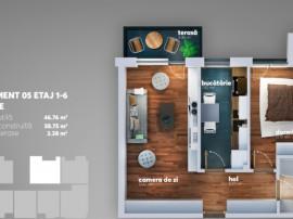 Apartament 2 camere - Sector 4 - Direct Dezvoltator - 7 min