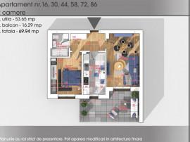 Apartament 2 camere- Auchan Titan-Parcul Teilor