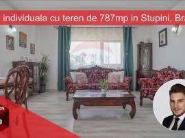 Casa individuala cu teren de 787mp in Stupini, Brasov!